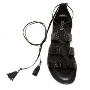MICHAEL KORS Monterey Tassel Gladiator Sandal